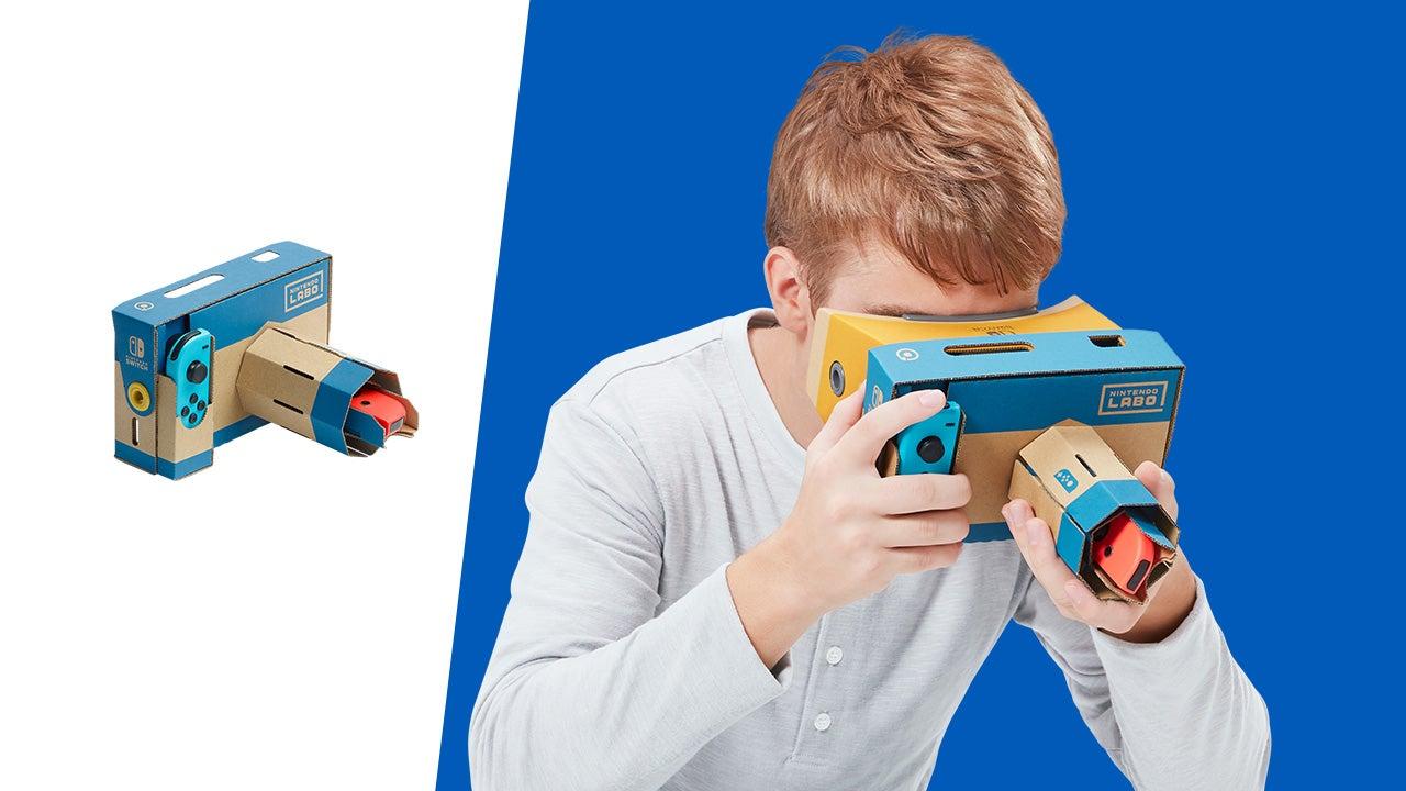 遊玩  Nintendo Labo   任天堂