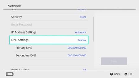 Smart DNS Settings