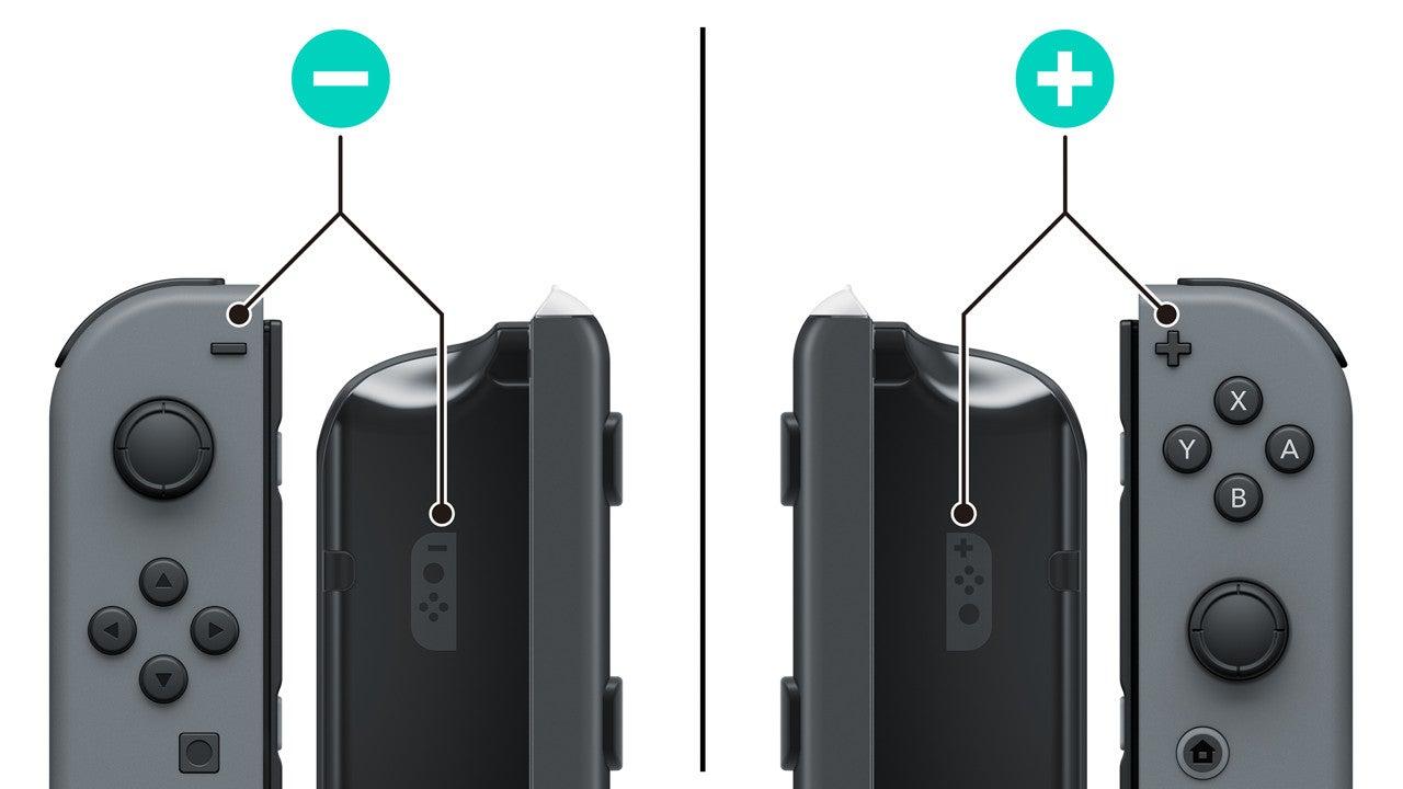 Joy-Con擴張充電池(乾電池)之安裝 / 取下方法|Nintendo Switch支援資訊|Nintendo