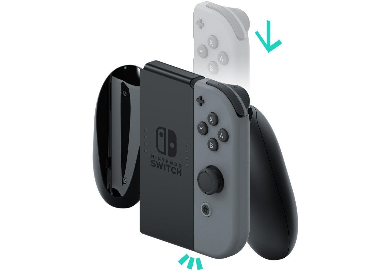 安裝/取下Joy-Con握把|Nintendo Switch支援資訊|Nintendo