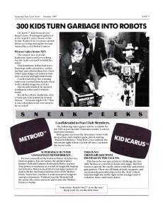 Nintendo Fun Club News - Summer 1987 - p5