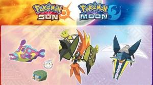 Nine Pokémon Detailed For Sun & Moon