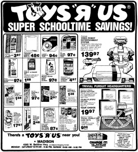 NES Ad - Toys R Us - 08-21-1986 - Wisconsin State Journal - Credit Frank Cifaldi