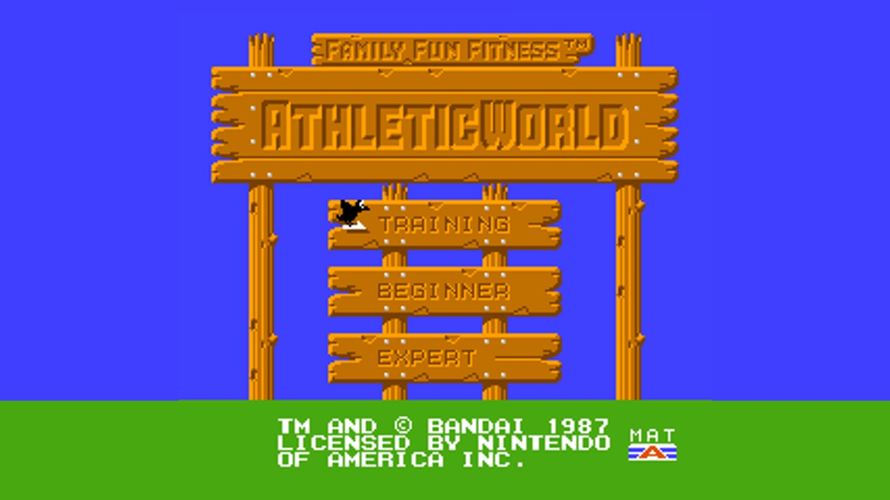 Athletic World (NES) Game Hub