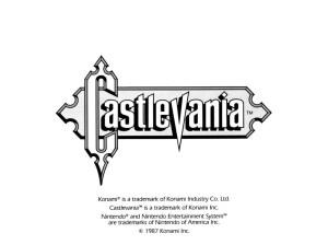 Castlevania Manual-16