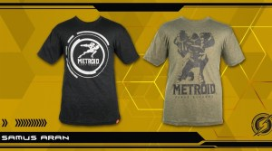 Metroid: Samus Returns Shirts Available For Purchase From Nintendo