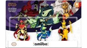 VIDEO: Three New Shovel Knight amiibo Announced