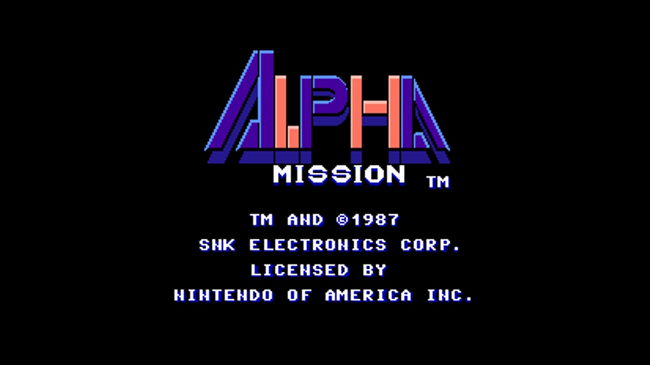 Alpha Mission (NES) Game Hub