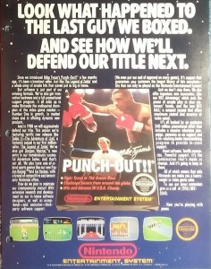 Mike Tyson's Punch-Out!! Retailer Ad