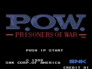 P.O.W. - Prisoners of War (Arcade) 01