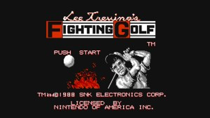 Lee Trevino's Fighting Golf (NES) Game Hub