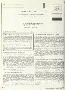 Computer Entertainer   January 1989 p16