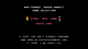 Who Framed Roger Rabbit (NES) Game Hub