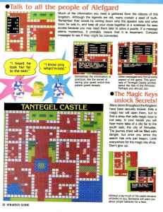 Nintendo Power | November December 1989 | Dragon Warrior Strategy Guide pg-22