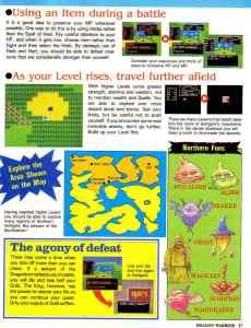 Nintendo Power   November December 1989   Dragon Warrior Strategy Guide pg-27