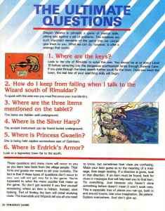 Nintendo Power   November December 1989   Dragon Warrior Strategy Guide pg-34
