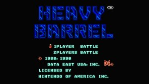 Heavy Barrel (NES) Game Hub