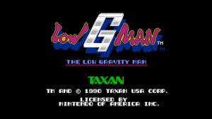 Low G Man (NES) Game Hub