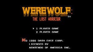 Werewolf: The Last Warrior (NES) Game Hub