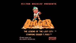 Digger T. Rock (NES) Game Hub