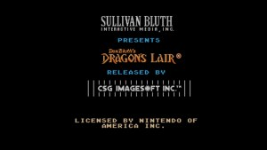 Dragon's Lair (NES) Game Hub