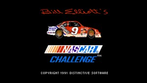 Bill Elliott's Nascar Challenge (NES) Game Hub
