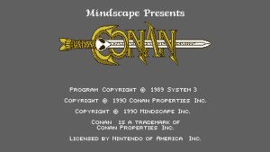 Conan: The Mysteries Of Time (NES) Game Hub
