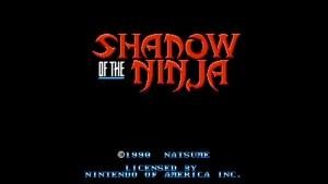 Shadow Of The Ninja (NES) Game Hub