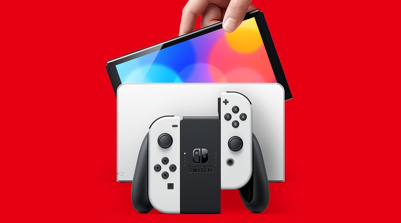 Nintendo Switch (OLED Model) Releases On Oct. 8