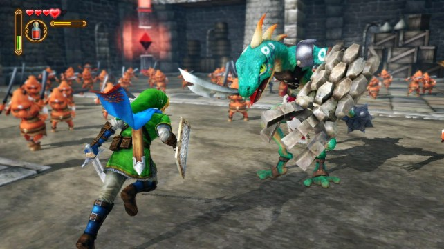 Hyrule Warriors Link Battle