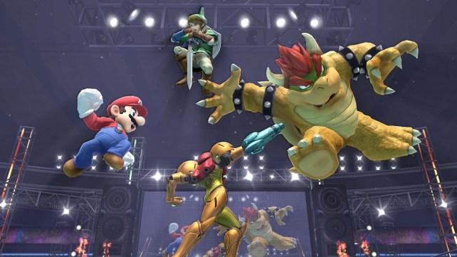 Super Smash Bros for WiiU Battle