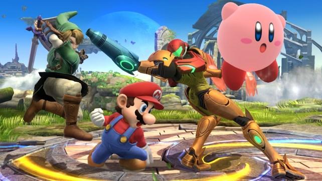 Super Smash Bros for WiiU Fight