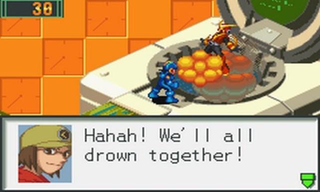 MegaMan Battle Network 2 Quick Man