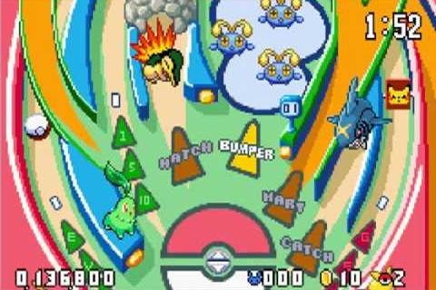 Pokemon Pinball Ruby Sapphire Table (Revised)