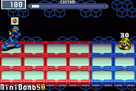 MegaMan Battle Network 3 Virus Fight