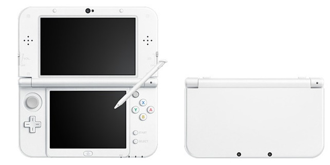 New Nintendo 3DS Pearl White (Revised)