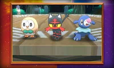 Pokemon Sun and Moon Starters (Revised)