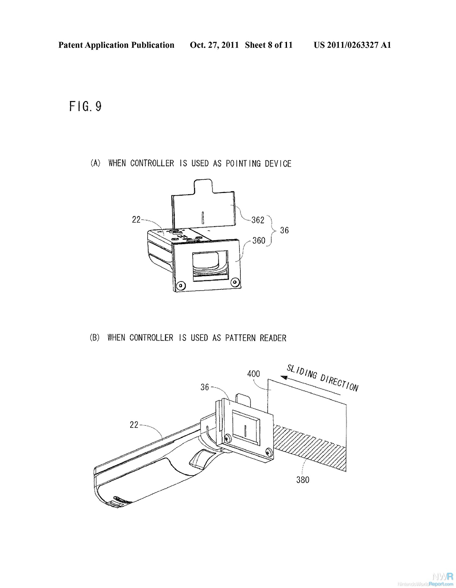 Nintendo Files for Wii Remote Infrared Add-on Patents