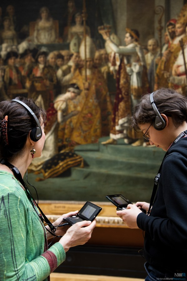 Nintendo 3ds Audio Guides Louvre Museum