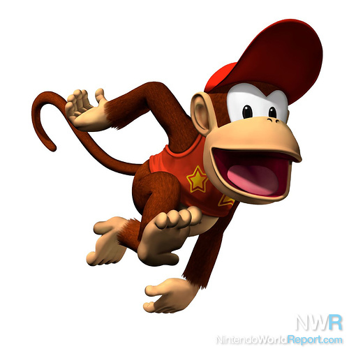 diddy kong returns to