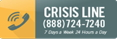 Crisis line phone number