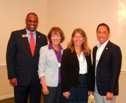 Ohta Thornton, Susan Davis, Carol Green, and Todd Gloria
