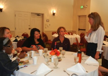 Carol Green and Justine Fischer California State PTA