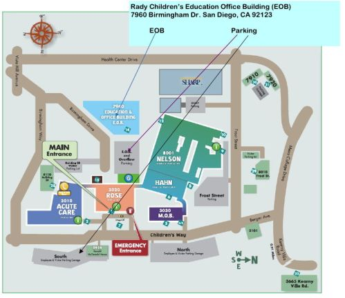 Rady Map