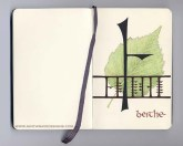Beithe/Birch: Ink and colored pencil - 2005.