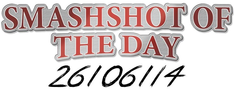 SmashShot of the Day (26/06/14)