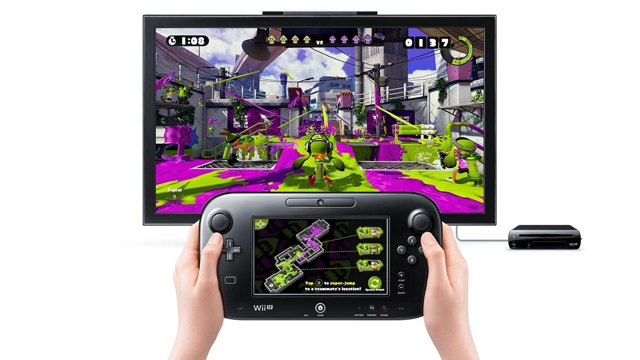 Splatoon GamePad Screenshot