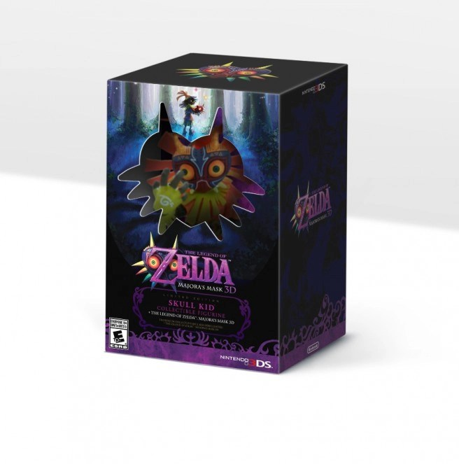 Nintendo of America Receiving Majora's Mask 3D Limited Edition