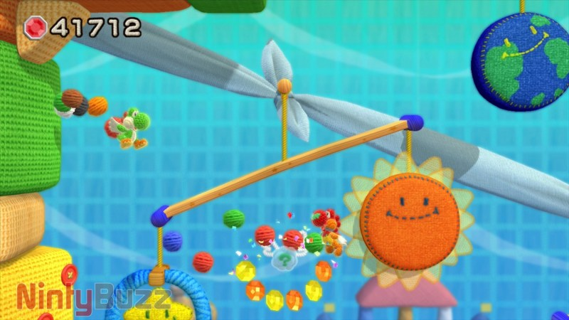 Yoshi's Woolly World Screen Shot 25:06:2015 12.25