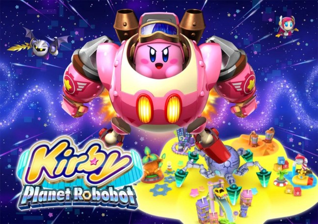 Kirby Planet Robobot Title